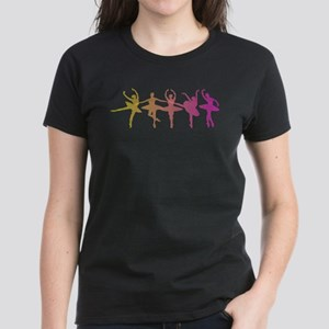 Ballerina Colors Women's Dark T-Shirt