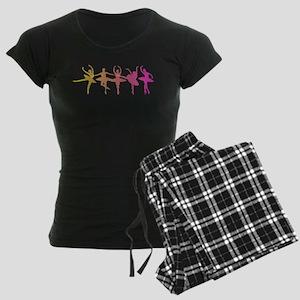 Ballerina Colors Women's Dark Pajamas