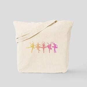 Ballerina Colors Tote Bag