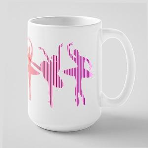 Ballerina Colors Large Mug
