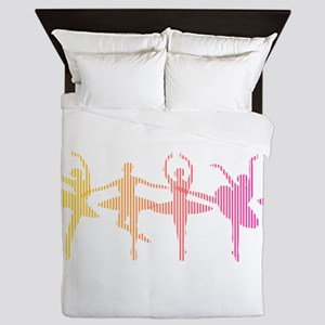 Ballerina Colors Queen Duvet