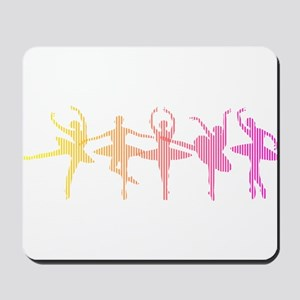 Ballerina Colors Mousepad