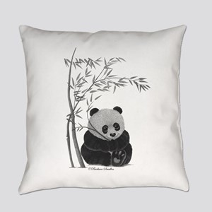 Little Panda Everyday Pillow