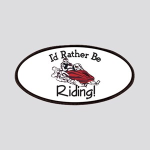 Id Rather Be Riding Patch