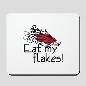 Eat My Flakes Mousepad