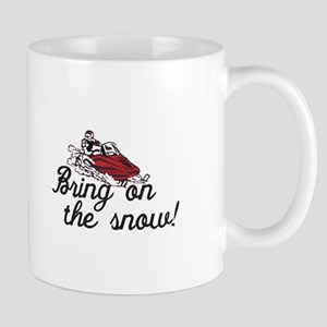 Bring on the Snow Mugs