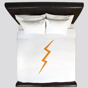 Lightning Bolt King Duvet