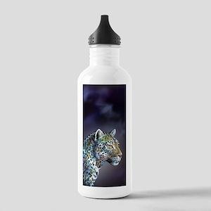 Leopard Moonlight in A-Minor Water Bottle