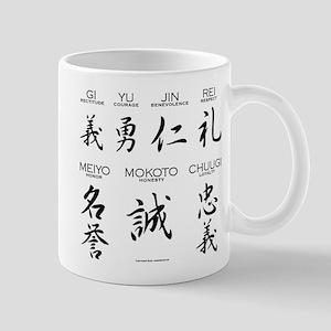 7 Virtues of the Samurai Mugs
