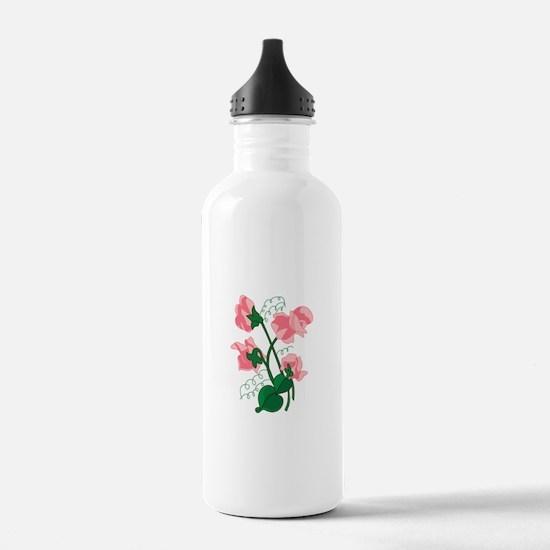 Sweet peas Water Bottle