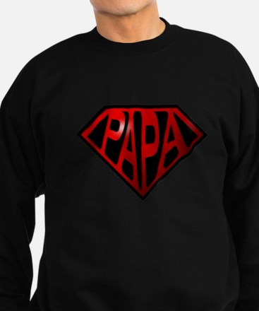 Cute Dad fathers day grandad granddad grandfather Sweatshirt (dark)