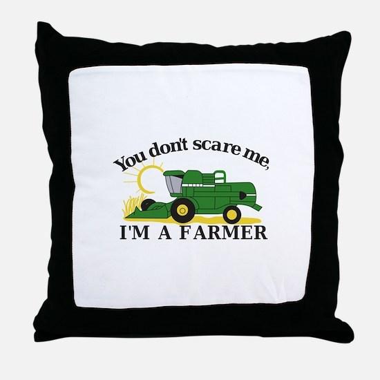 Im a Farmer Throw Pillow