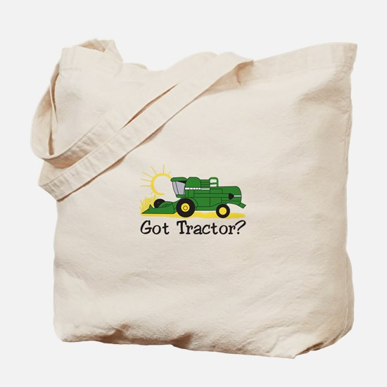 Got Tractor? Tote Bag