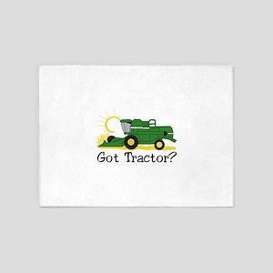 Got Tractor? 5'x7'Area Rug