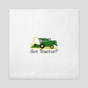 Got Tractor? Queen Duvet