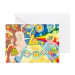 Creation Myth Watercolor Greeting Card