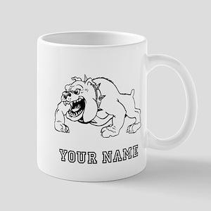 Mean Bulldog (Custom) Mugs