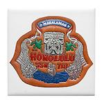 USS HONOLULU Tile Coaster
