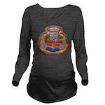 USS HONOLULU Long Sleeve Maternity T-Shirt