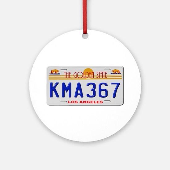 KMA 367 Ornament (Round)