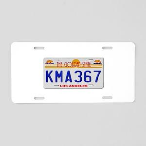 KMA 367 Aluminum License Plate