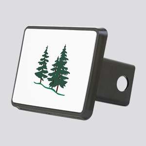 Evergreen Trees Hitch Cover