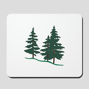 Evergreen Trees Mousepad