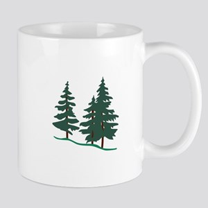 Evergreen Trees Mugs