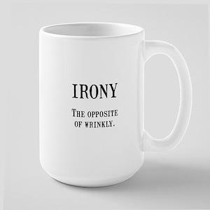 Irony Mugs