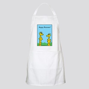 Passover Giraffes Apron