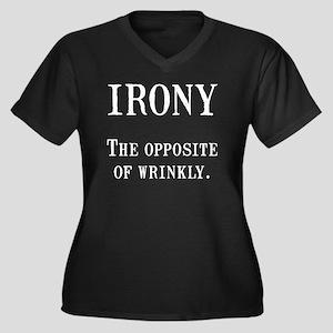 Irony Plus Size T-Shirt