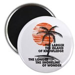 The Island Of Knowledge Magnets