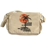 The Island of Knowledge Messenger Bag