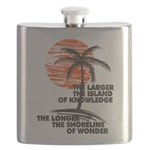 The Island of Knowledge Flask