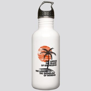 The Island of Knowledge Water Bottle