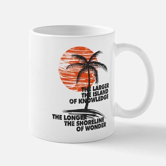 The Island of Knowledge Mugs