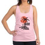 The Island of Knowledge Racerback Tank Top