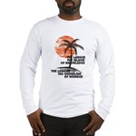 The Island of Knowledge Long Sleeve T-Shirt