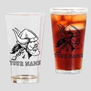 Viking (Custom) Drinking Glass