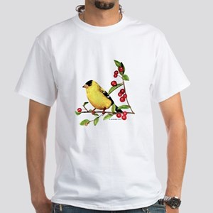 Goldfinch White T-Shirt