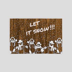 Let it Snow 4' x 6' Rug