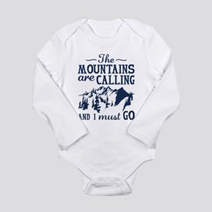 The Mountains Are Calling Body Suit