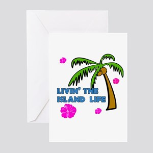 Livin' the Island Life Greeting Cards (Pk of 10)