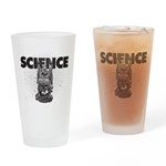 Science! Happy Day! Drinking Glass