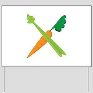Celery & Carrot Yard Sign