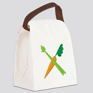 Celery & Carrot Canvas Lunch Bag
