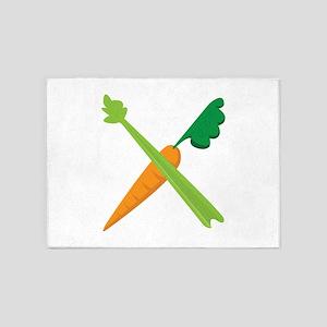Celery & Carrot 5'x7'Area Rug