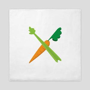 Celery & Carrot Queen Duvet