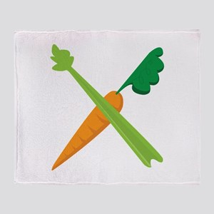 Celery & Carrot Throw Blanket