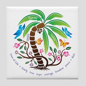 Tile Coaster/Tree of Life/Tropical